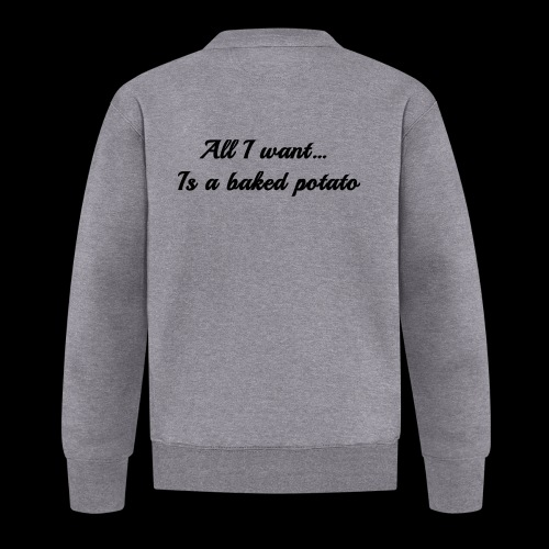 Baked potato - Baseball Jacket