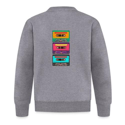 Colorful Cassettes row - Unisexbasebolljacka