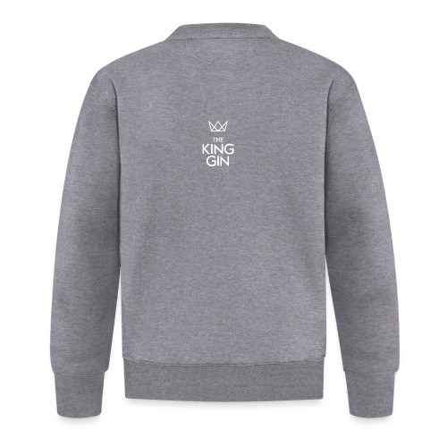 The King Gin Logo weiss - Baseball Jacke