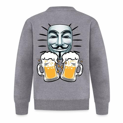 07 Zwei Mass Bier Anonymous - Baseball Jacke