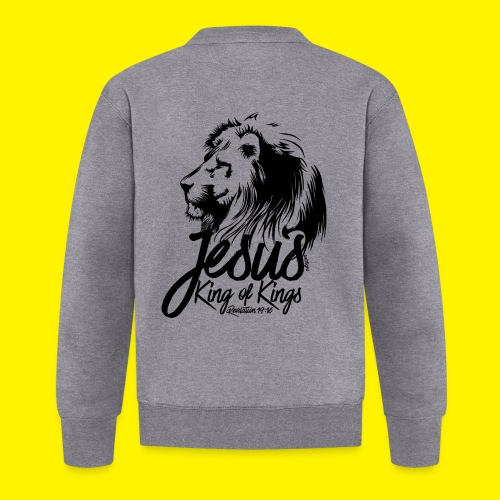 JESUS - KING OF KINGS - Revelations 19:16 - LION - Baseball Jacket