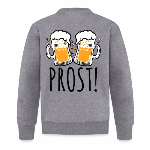 03 Zwei Mass Bier PROST 3c - Baseball Jacke