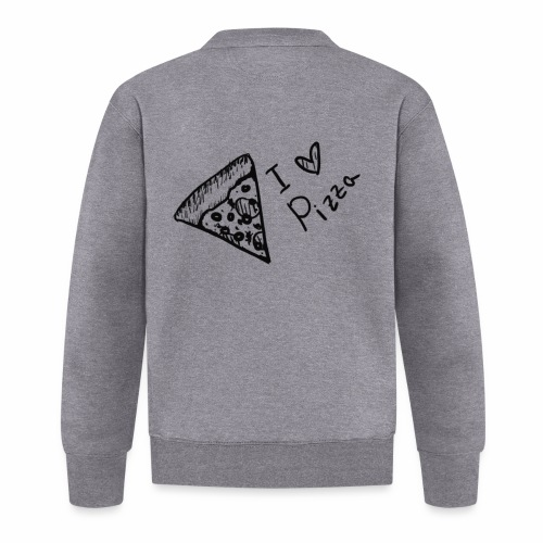 I LOVE PIZZA - Baseball Jacke