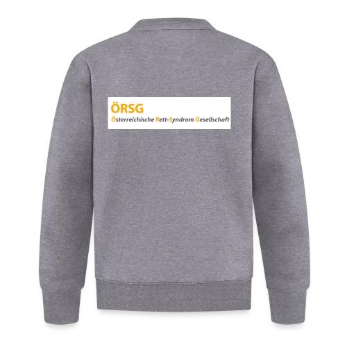 Text-Logo der ÖRSG - Rett Syndrom Österreich - Baseball Jacke
