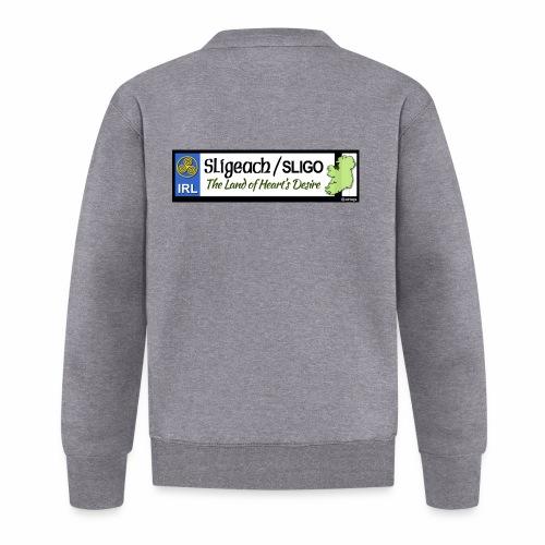 CO. SLIGO, IRELAND: licence plate tag style - Baseball Jacket