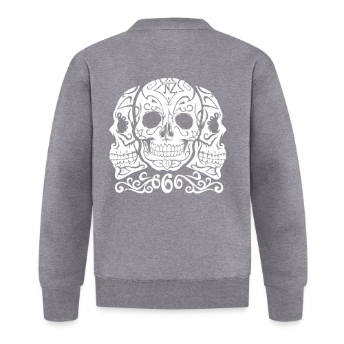 Skull Dia de los muertos - Veste zippée Unisexe