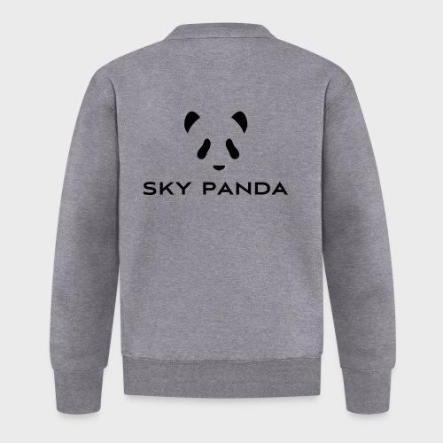 Sky Panda Logo - Baseball Jacke