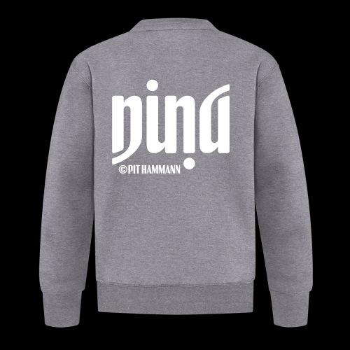 Ambigramm Nina 01 Pit Hammann - Baseball Jacke