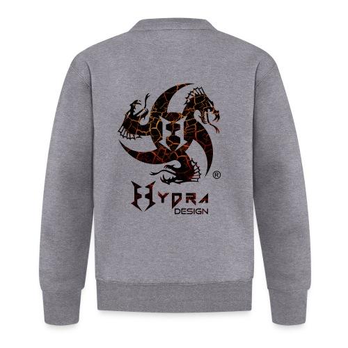 Hydra Design - logo Cracked lava - Felpa da baseball