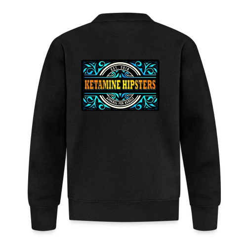 Black Vintage - KETAMINE HIPSTERS Apparel - Baseball Jacket
