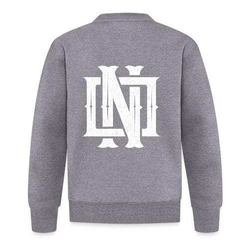 Nineone Monogram NO 02 white - Unisex Baseball Jacke