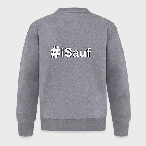 Hashtag iSauf klein - Baseball Jacke