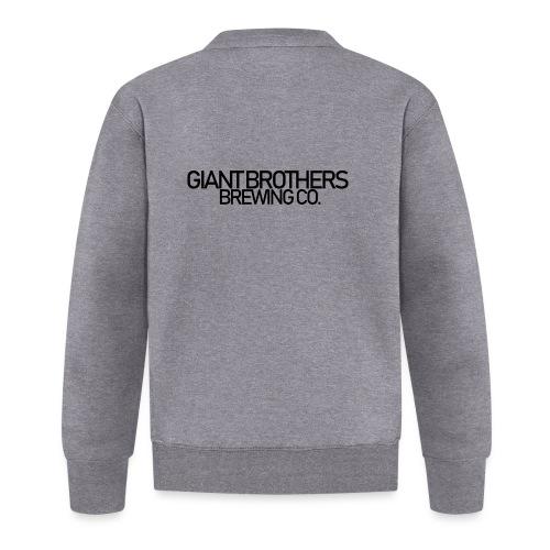 Giant Brothers Brewing co SVART - Unisexbasebolljacka