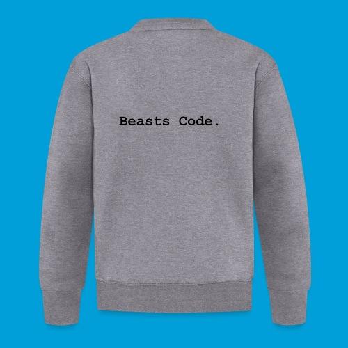 Beasts Code. - Unisex Baseball Jacket