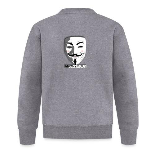 Anonymous - Unisex Baseball Jacket