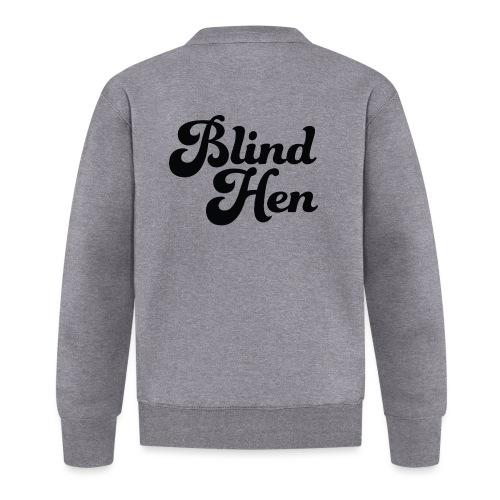 Blind Hen - Logo Lady fit premium, blue - Unisex Baseball Jacket