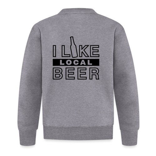I Like Local Beer (swity) - Baseball Jacke