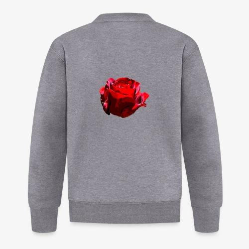 Red Rose - Baseball Jacke
