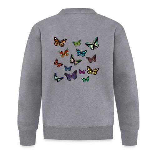 Butterflies flying - Unisexbasebolljacka