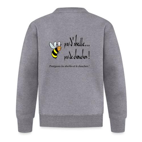 Pas d'abeille, pas de chouchen - Veste zippée