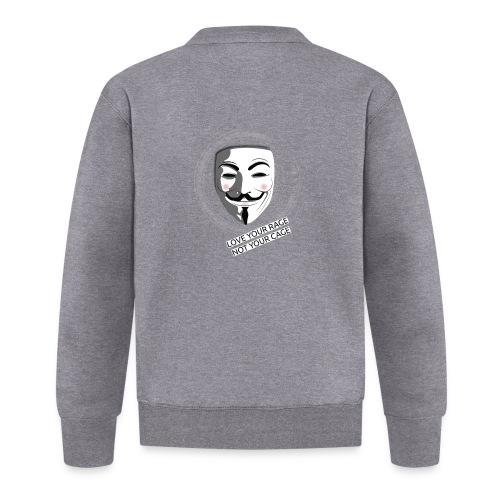 Anonymous Love Your Rage - Unisex Baseball Jacket