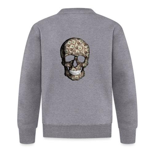 Skull Money Black - Chaqueta de béisbol