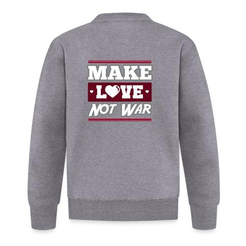 Make_love_not_war by Lattapon - Baseballjakke