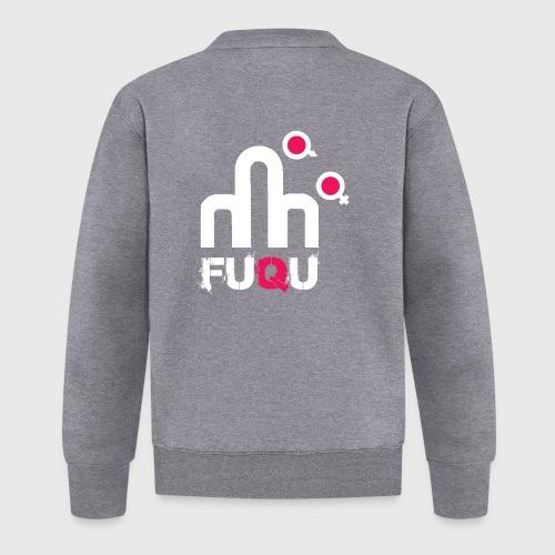 T-shirt FUQU logo colore bianco - Felpa da baseball unisex