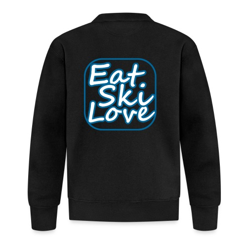 eat ski love - Baseballjack