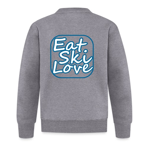 eat ski love - Baseballjack