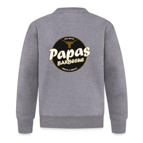 Papas Barbecue ist das Beste (Premium Shirt) - Unisex Baseball Jacke