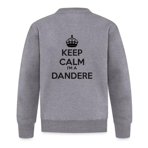 Dandere keep calm - Baseball Jacket