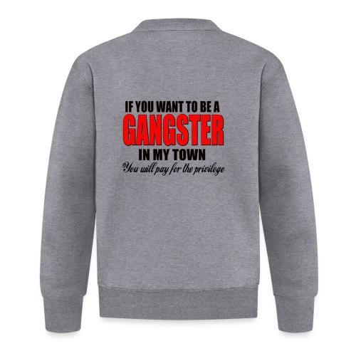 ville gangster - Veste zippée Unisexe