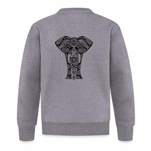 Ażurowy słoń - Kurtka bejsbolowa