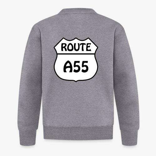Route A55 - Baseball Jacket