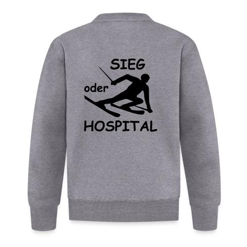 Sieg oder Hospital - Baseball Jacke