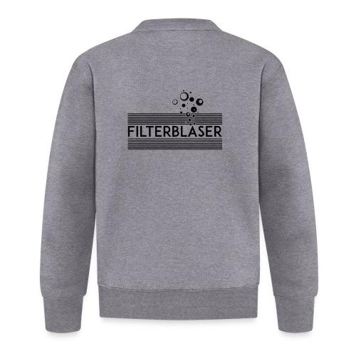 Filterbläser schwarz - Unisex Baseball Jacke