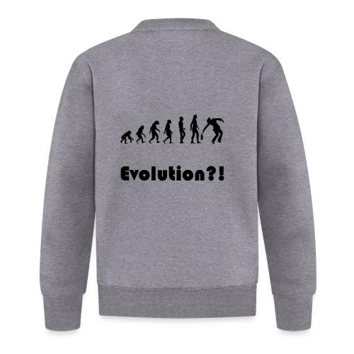 Evolutionstheorie Betrunkener - Baseball Jacke