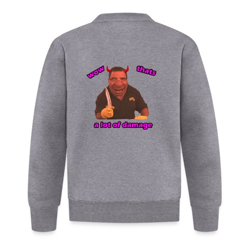 Phil Swift Damage - Baseball Jacket
