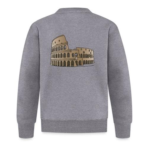 Kolosseum in Rom c - Unisex Baseball Jacke