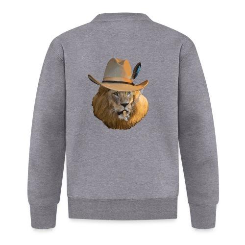 Löwe auf Safari - Baseball Jacke
