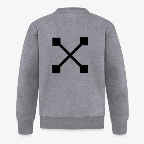 X BLK - Baseball Jacke