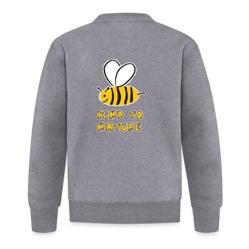 Bee kind to nature Bienen retten - Baseball Jacke