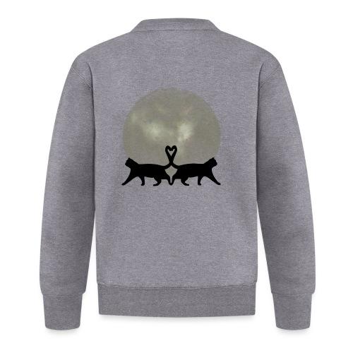 Cats in the moonlight - Unisex  baseballjack