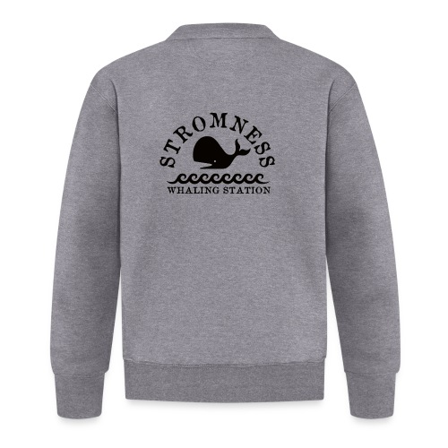 Sromness Whaling Station - Baseball Jacket