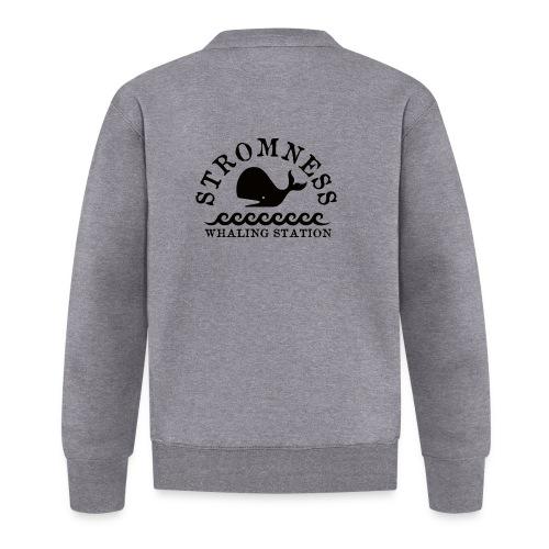 Sromness Whaling Station - Unisex Baseball Jacket