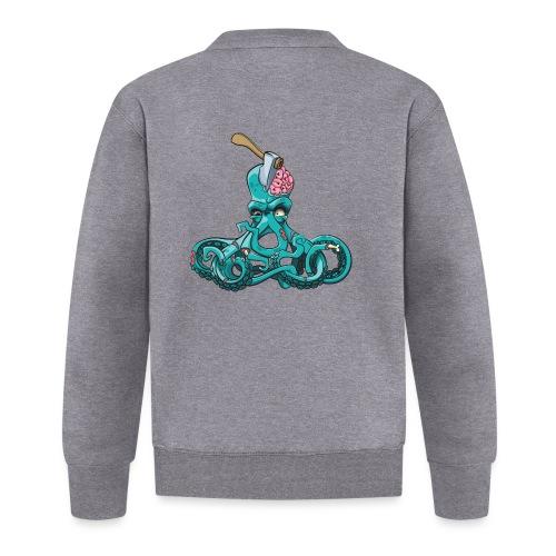 Octopus Zombie Horror Halloween Tintenfisch Gehirn - Unisex Baseball Jacke
