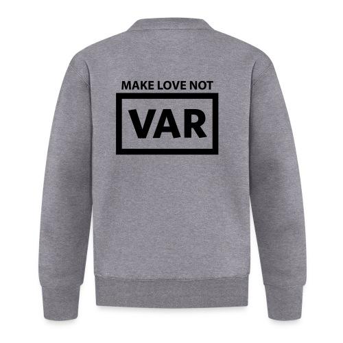 Make Love Not Var - Unisex  baseballjack