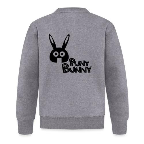 Puny Bunny text - Unisex baseball-takki