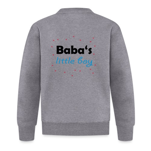 Baba's litte boy Babybody - Baseball Jacke